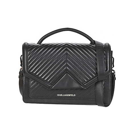 Karl Lagerfeld K/KLASSIK QUILTED SHOULDERBAG women's Shoulder Bag in Grey