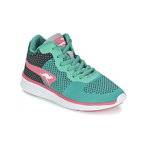 Kangaroos BLUELIGHT 2099 girls's Children's Shoes (High-top Trainers) in Green