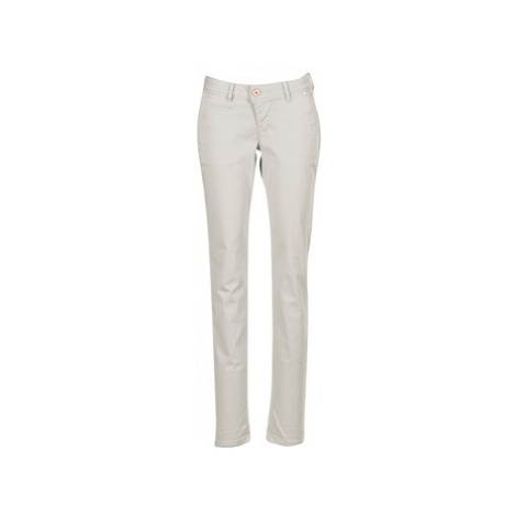 Freeman T.Porter PENTARA MERSIL STRETCH women's Trousers in Beige Freeman T. Porter
