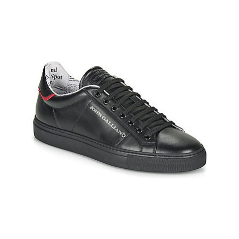 John Galliano 8545 men's Shoes (Trainers) in Black