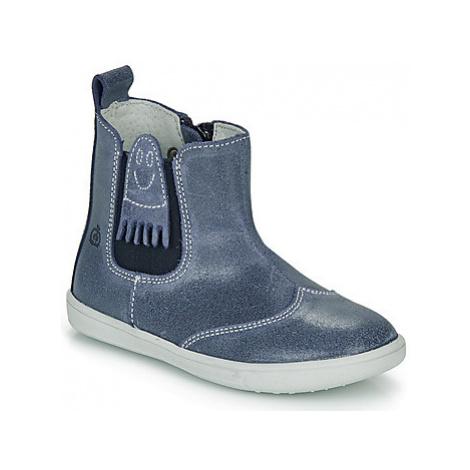 Citrouille et Compagnie LESKIMO boys's Children's Mid Boots in Blue