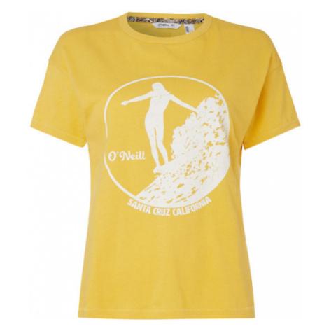 O'Neill LW OLYMPIA T-SHIRT yellow - Women's T-shirt