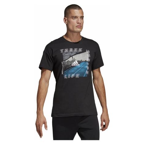 T-Shirt adidas Performance Id Photo - Black - men´s