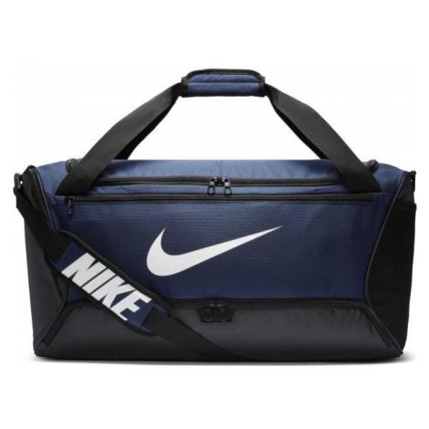 Nike BRASILIA M DUFF dark blue - Sports bag