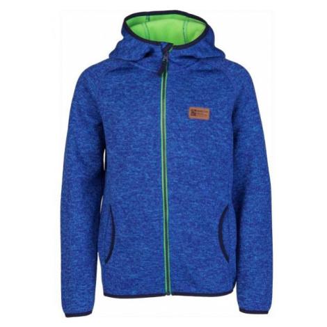 Lewro HASTY blue - Children's fleece sweatshirt