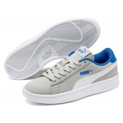 Puma SMASH V2 BUCK JR grey - Boys' leisure shoes