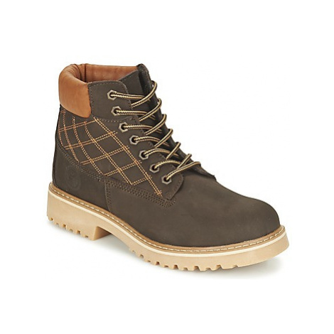 Citrouille et Compagnie FINALO boys's Children's Mid Boots in Brown
