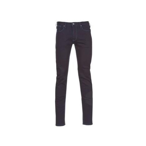 Emporio Armani ZEWAT men's Skinny Jeans in Black