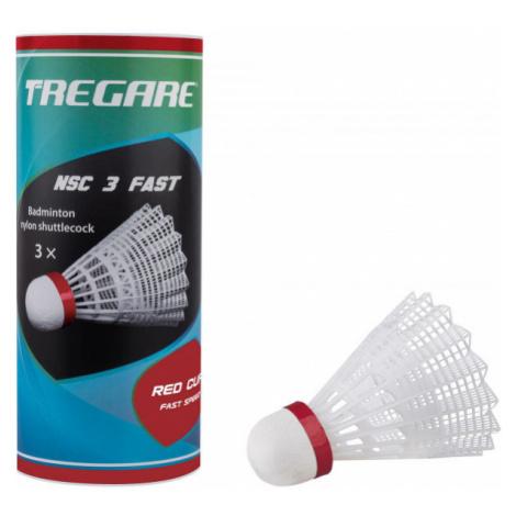 Tregare NSC 3 FAST WHITE - Badminton shuttlecocks