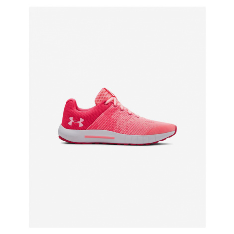 Under Armour Grade School Charged Pursuit Kids sneakers Pink