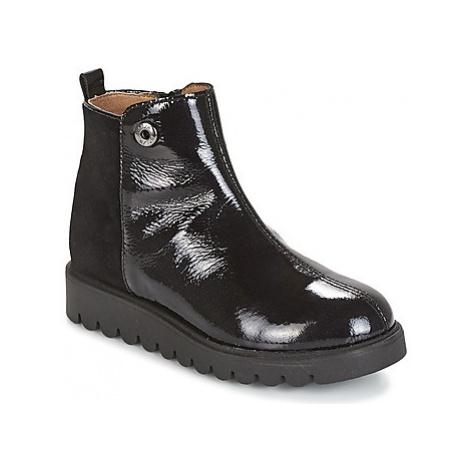 Unisa MANLIO girls's Children's Mid Boots in Black
