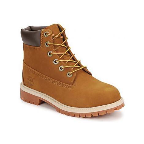 Timberland 6 IN PREMIUM WP BOOT girls's Children's Mid Boots in Brown