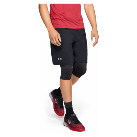 Under Armour Launch SW 2-in-1 Short pants Black