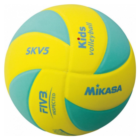 Mikasa SKV5 yellow - Children's volleyball