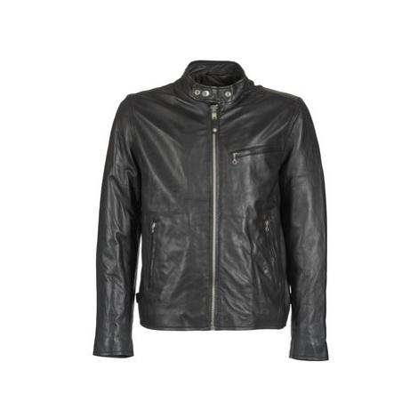 Schott BLODOU men's Leather jacket in Black Schott NYC