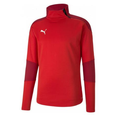 Puma TEAM FINAL 21 TRAINING FLEECE red - Men's training sweatshirt