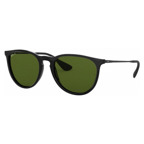 Ray Ban Unisex RB4171 ERIKA CLASSIC - Frame color: Black, Lens color: Green, Size 54-18/145
