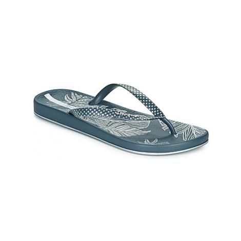 Ipanema ANAT NATURE III women's Flip flops / Sandals (Shoes) in Blue