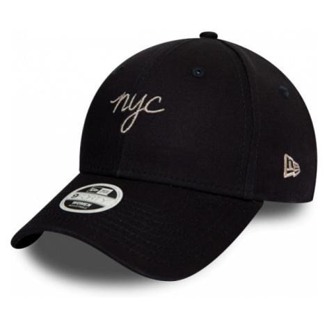 New Era 9FORTY WMNS NYC SCRIPT black - Women's club baseball cap