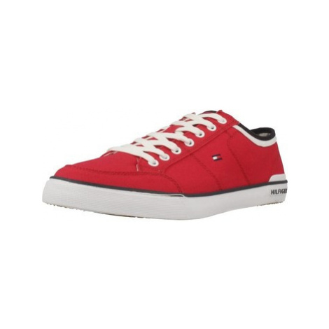 Tommy Hilfiger HARRINGTON 5D2 men's Shoes (Trainers) in Red