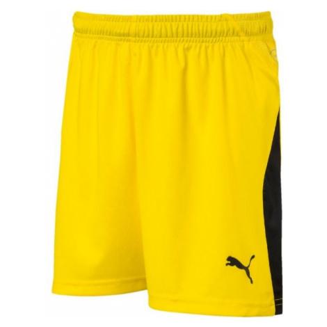 Puma LIGA SHORTS JR yellow - Boys' sports shorts