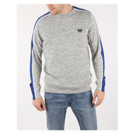 Diesel K-Tape Sweater Grey