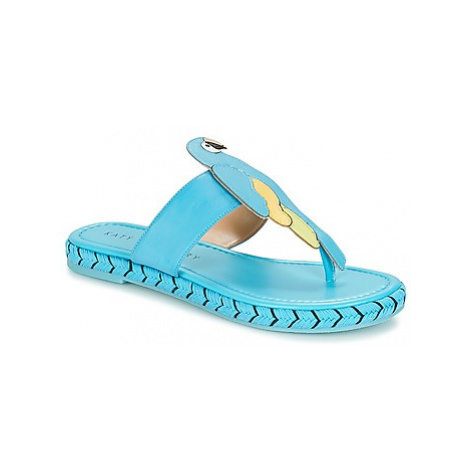 Katy Perry THE YASUNI women's Flip flops / Sandals (Shoes) in Blue
