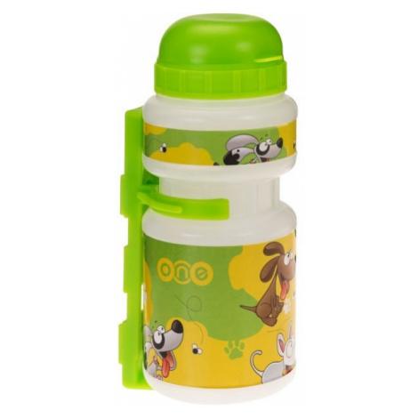 One SMILE 250ML green - Children's sports water bottle