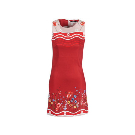 Desigual PATRICE women's Dress in Red