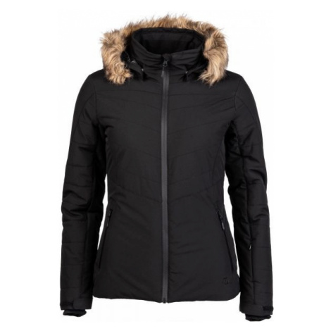 Willard DOTTY black - Women's quilted ski jacket