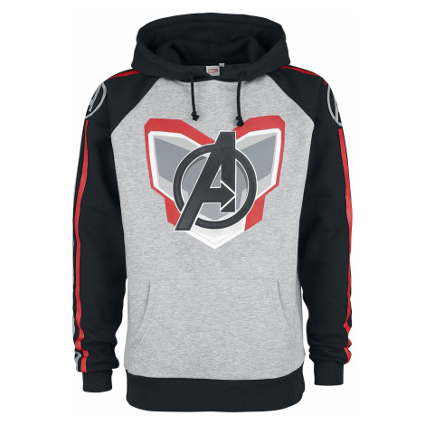 Avengers - Endgame - Uniform - Hooded sweatshirt - mixed grey-black