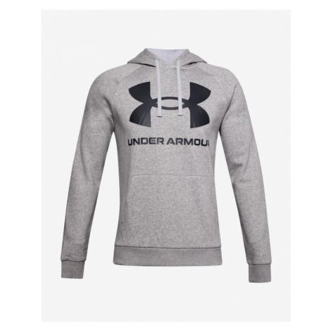 Under Armour Rival Fleece Big Logo Sweatshirt Grey