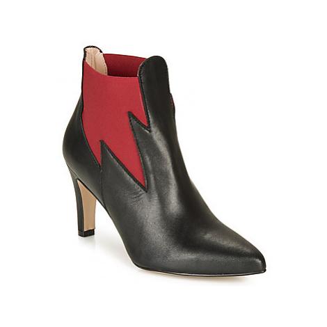 Betty London LILYA women's Low Ankle Boots in Black