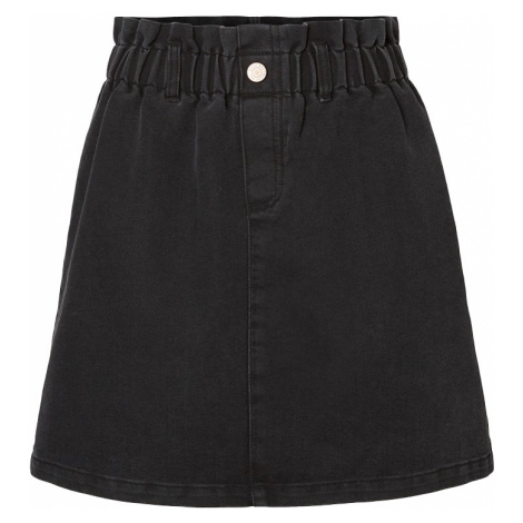 Noisy May - Judo Paperbag Skirt - Skirt - black