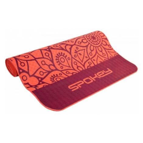 Spokey MANDALA orange - Yoga mat