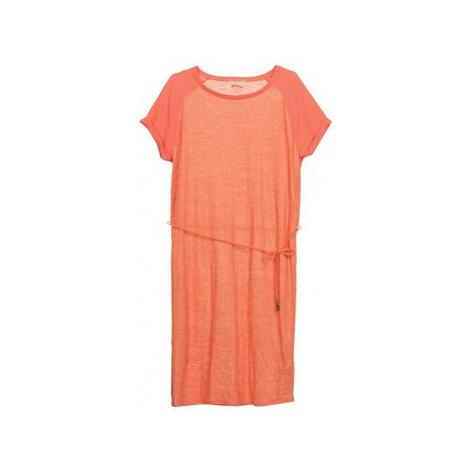Calvin Klein Jeans DRAUDE women's Dress in Orange