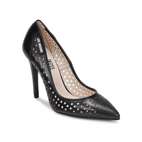 Love Moschino SILVIA women's Court Shoes in Black