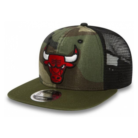 New Era 9FIFTY NBA TRUCKER CHICAGO BULLS red - Club baseball cap
