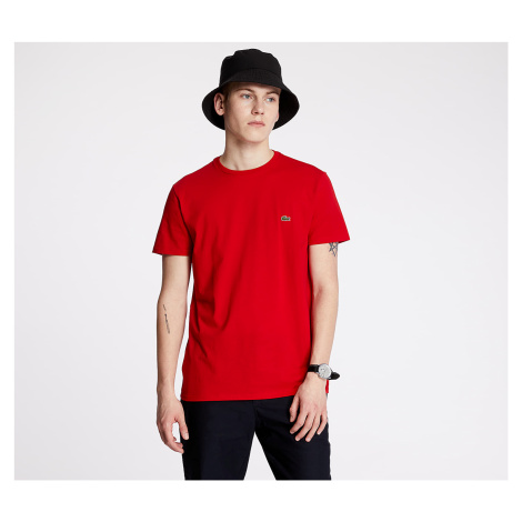 LACOSTE Classic Fit Tee Rouge