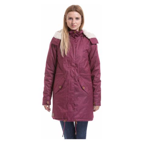 jacket Meatfly Mia 2 - B/Dark Purple Heather - women´s