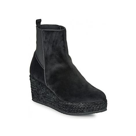 Castaner NOEMIE women's Mid Boots in Black Castañer