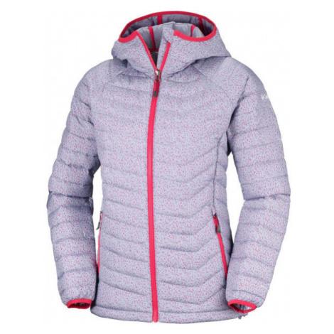 Columbia POWDER LITE HOODED JACKET purple - Women's winter jacket