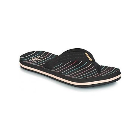 Reef KIDS AHI girls's Children's Flip flops / Sandals in Black