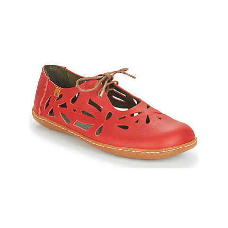 El Naturalista EL VIAJERO women's Shoes (Pumps / Ballerinas) in Red