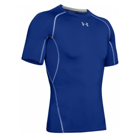 Under Armour HG ARMOUR SS blue - Men's T-shirt
