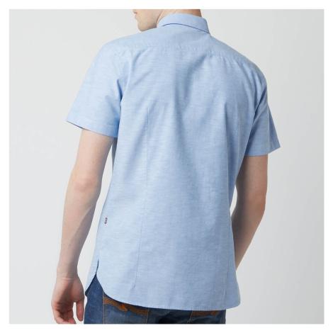 BOSS Men's Magenton Shirt - Sky Blue - Blue Hugo Boss