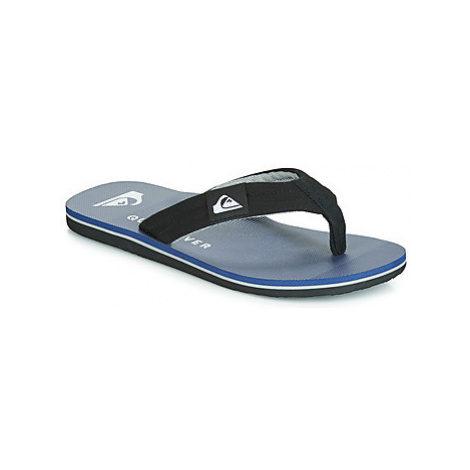 Quiksilver MOLOKAI LAYBACK M SNDL XKSS men's Flip flops / Sandals (Shoes) in Blue