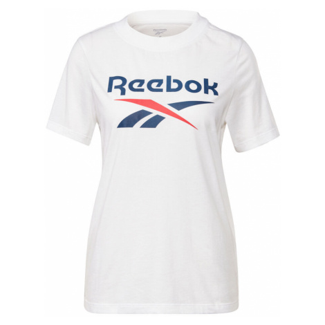 Ripped Big Logo T-Shirt Women Reebok