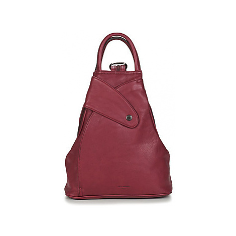 Hexagona - women's Backpack in Bordeaux