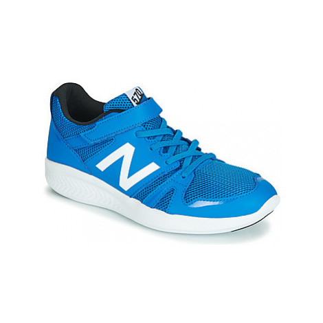New Balance YT570 girls's Children's Shoes (Trainers) in Blue